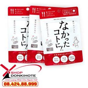 Enzyme giảm cân Nhật Bản ban ngày