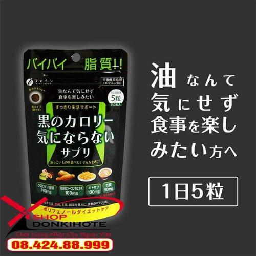 Viên Uống Giảm Mỡ Toàn Thân Fine Japan