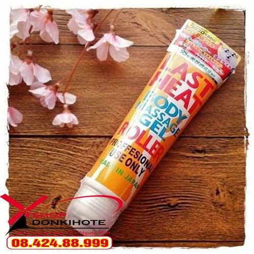 công dụng Gel Last Heat Body Massage Gel Roller