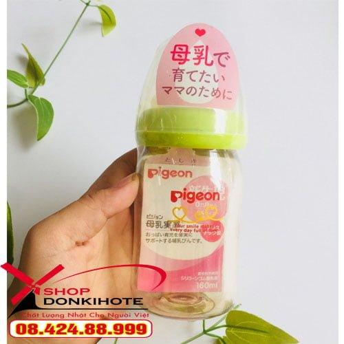 Bình sữa Pigeon chính hãng giá cạnh tranh tạ Hà Nội
