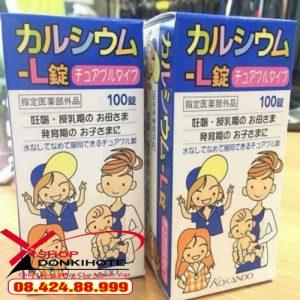 viên uống bổ sung canxi cho bé Nhật Bản giá tốt nhất tại Hà Nội