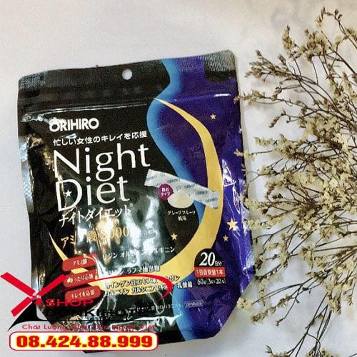 Cách sử dụng bột giảm cân orihiro night diet để đạt được hiệu quả cao nhất