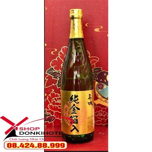 Rượu sake vảy vàng mejiyo với nhiều công dụng tốt cho sức khỏe