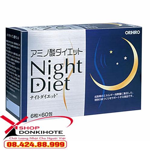 Bột giảm cân ban đêm Night Diet chính hãng tại donkivn.com
