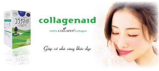 Collagenaid Nitta Gelatin Nhật Bản giúp chị em lấy lại tuối xuân