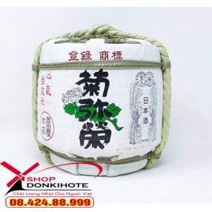 Rượu Sake KIKUYASAKA hũ cối 1800ml được ưa chuộng tại Nhật