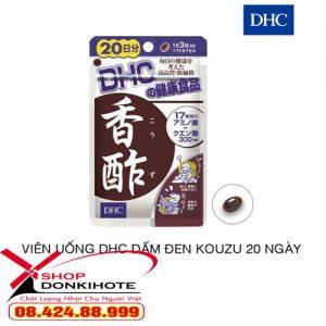 Viên giấm đen DHC của Nhật có tốt không