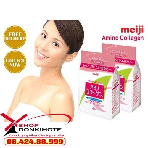 Phụ nữa bao nhiêu tuổi có thể dùng Collagen meiji amino