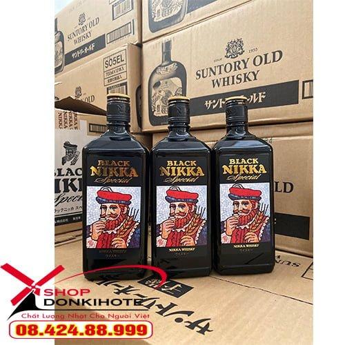 Rượu Black Nikka Special 720ml nhật bản có mức giá hợp lý