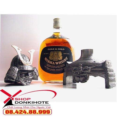 Rượu nikka whisky samurai có mức giá hợp lý