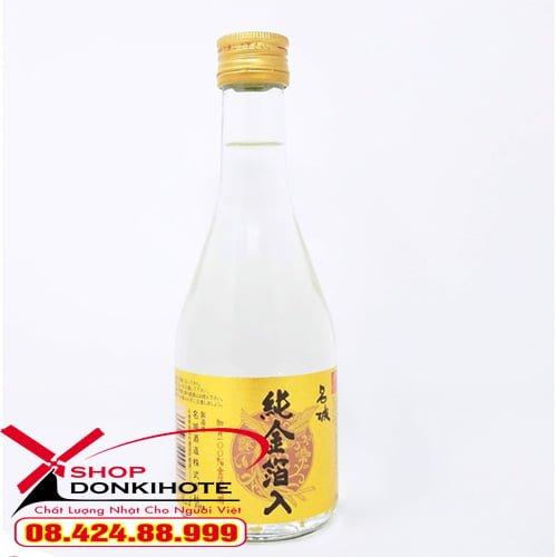 Hình ảnh: Rượu sake vảy vàng Masaki Jun 300ml
