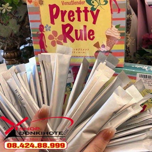 Cách sử dụng thuốc giảm cân Pretty Rule tại Hà Nội