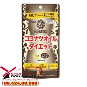 Thực phẩm Giảm Cân MCT Coconut Oil Diet Nhật Bản Hiệu Quả ngay an toàn hiệu quả cho chị em