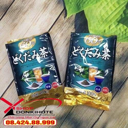 Trà diếp cá Orihiro giảm cân nhanh an toàn hiệu quả tại donkivn.com