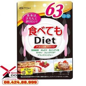 Thực phẩm chức năng Viên Uống Giảm Cân Itoh Diet Nhật Bản giảm cân cấp tốc an toàn hiệu quả