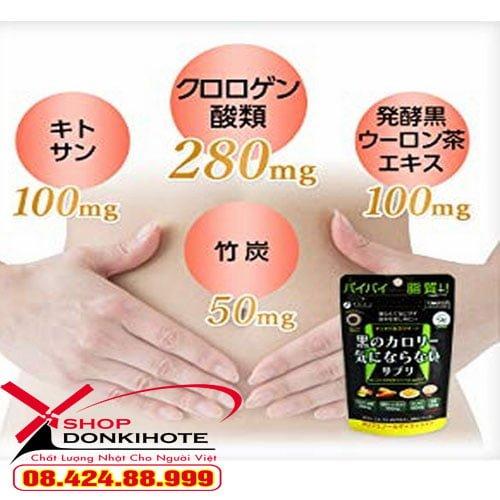 Viên Uống Giảm Mỡ Toàn Thân Fine Japan uy tín chất lượng tại donkivn.com