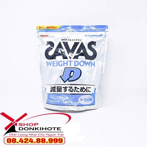 cách sử dụng Giảm cân Savas Meiji vị sữa chua
