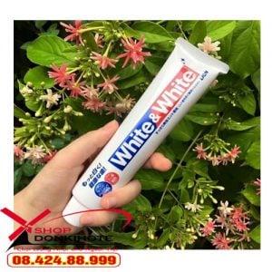 Kem đánh răng white&white Nhật Bản giúp răng bạn trắng sáng tự tin tỏa sáng