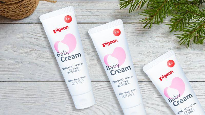 Kem dưỡng da chống nẻ Baby Cream Pigeon 50g Nhật Bản chính hãng giá cạnh trạnh tại donkivn shop