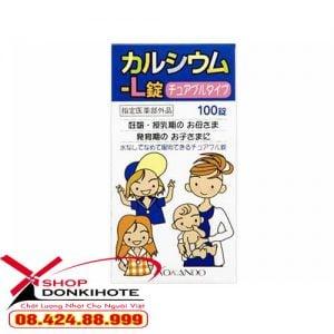 Bổ sung canxi Kokando Nhật bản cho bé yêu