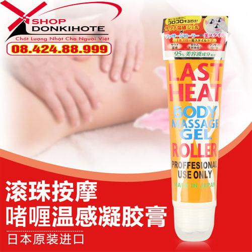 Gel Last Heat Body Massage Gel Roller giá tốt nhất tại hà Nội