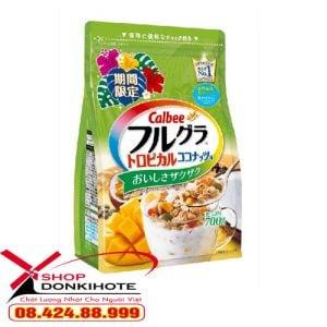 Ngũ cốc Calbee Nhật Bản tốt cho người ăn kiêng