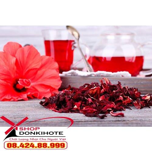 Nước hoa dâm bụt Haru Hibiscus 30 gói của nhật