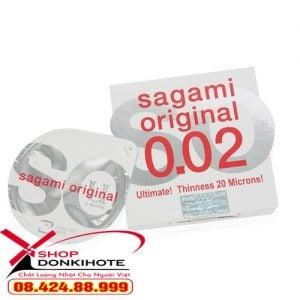 Quan hệ tình dục an toàn với Sagami 0.02 Nhật Bản