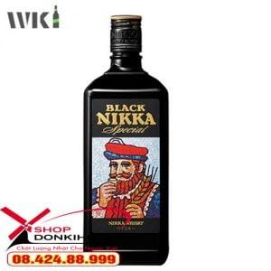 Rượu Black Nikka Special 720ml kiểu dáng sang trọng