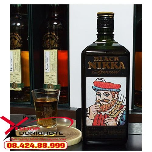 Rượu black nikka special với hương thơm đặc trưng