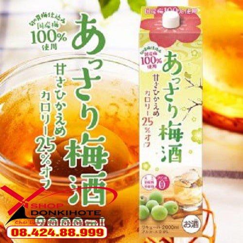 Rượu mơ Oenon Nhật Bản với nhiều cách dùng