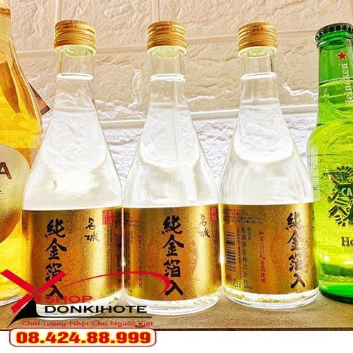 Rượu sake vảy vàng Masaki Jun rất được ưa chuộng tại Nhật
