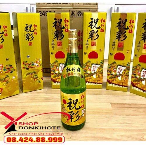 rượu Sake vảy vàng Shochikubai 720ml
