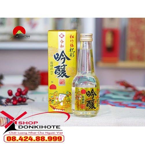 Sake vảy vàng Nhật Bản 300ml