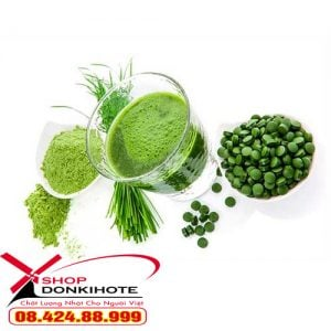 Viên uống tảo Spirulina nhiều dưỡng chất nhất cho bà bầu Nhật bản