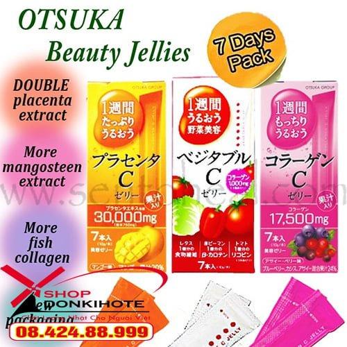 Thạch Collagen Otsuka Skin C Japan Placenta Jelly đã về tới shop