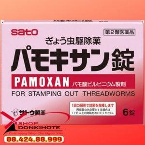 Thuốc tẩy giun Pamoxan của nhật cho bé an toàn và hiệu quả