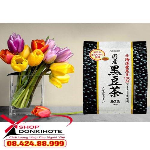 Trà đậu đen Orihiro túi 30 gói của nhật uống rất tốt cho sức khỏe