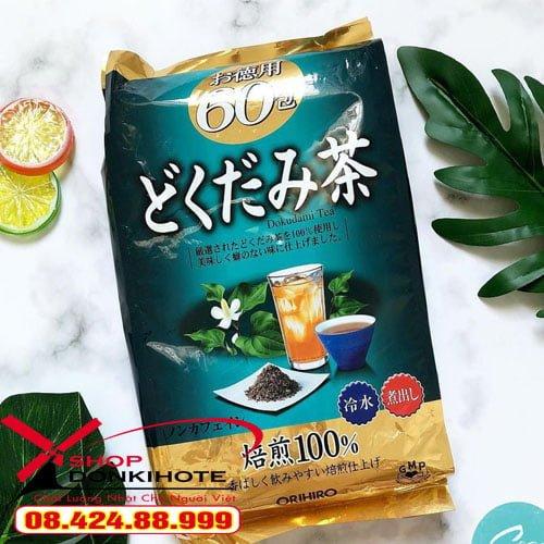 trà giảm cân diếp cá uống thay Nước hàng ngày