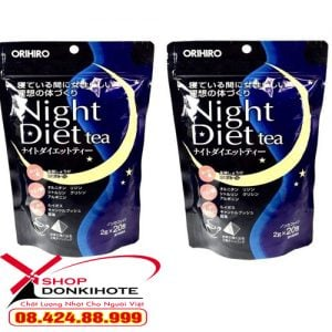 giảm cân Night Diet Tea Orihiro