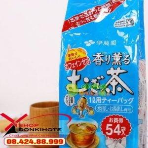 Uống Trà lúa mạch Mugi pha ấm mỗi ngày cải thiện giấc ngủ ngon và hệ tiêu hóa tốt hơn