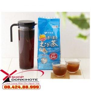 Trà lúa mạch Mugi 54 túi lọc của Nhật hỗ trợ thanh lọc cơ thể cực tốt