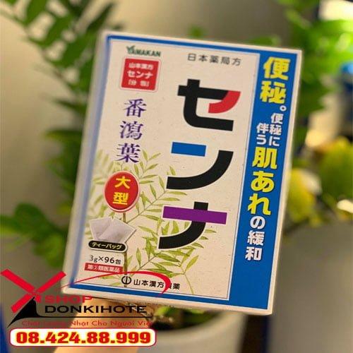 Trà trị táo bón cho mẹ sau sinh Yamato hộp 48 gói Nhật Bản chính hãng giá rẻ
