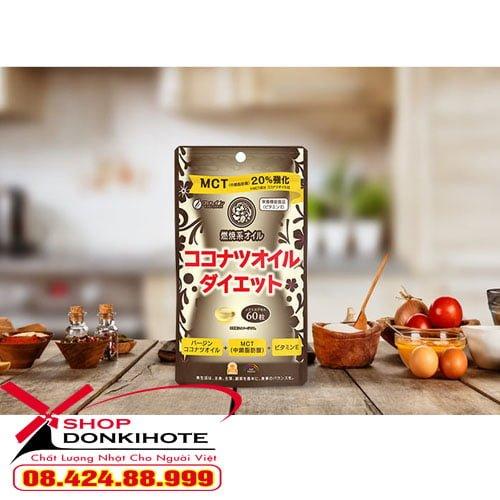 Viên Giảm Cân MCT Coconut Oil Diet Nhật Bản Hiệu Quả ngay an toàn hiệu quả cho chị em
