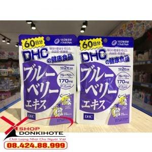 Viên uống việt quất DHC Nhật Bản chính hãng trên toàn quốc