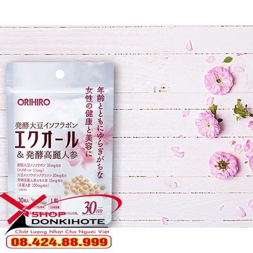 Viên uống Orihiro Equol phát huy công dụng tốt nhất khi dùng sau bữa ăn