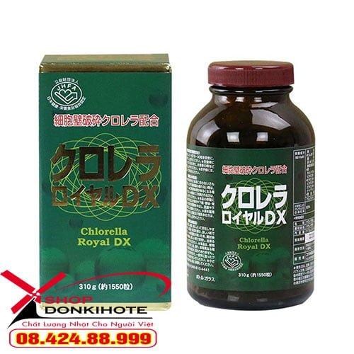 Tảo lục Chlorella Royal DX của Nhật tại shop Donkivn.com