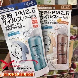 xịt chống virus, kháng khuẩn PM2.5 Allertect sẽ niêm yết giá bán riêng.