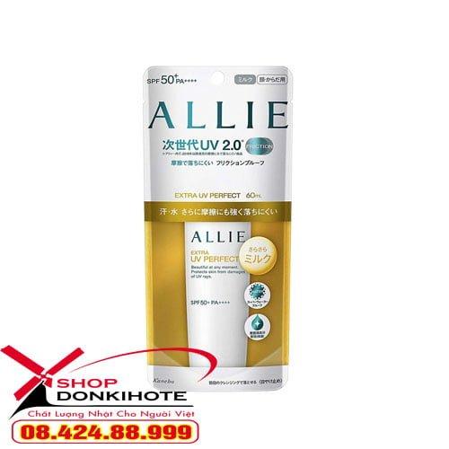 Kem chống nắng Allie Kanebo chính hãng nhật bản cho da mụn điều trị mịn và trắng sáng