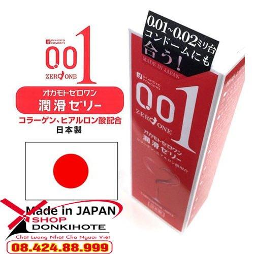 bao cao su cực siêu mỏng Okamoto 0.01 Nhật Bản được người tiêu dùng tin tưởng